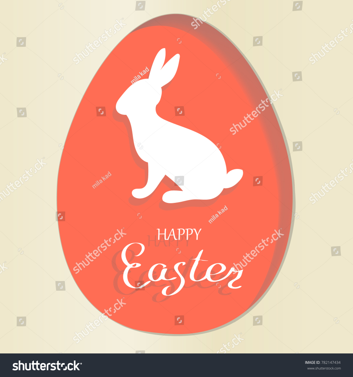 Vector easter greeting card red easter stock vector 782147434 vector easter greeting card red easter stock vector 782147434 shutterstock m4hsunfo