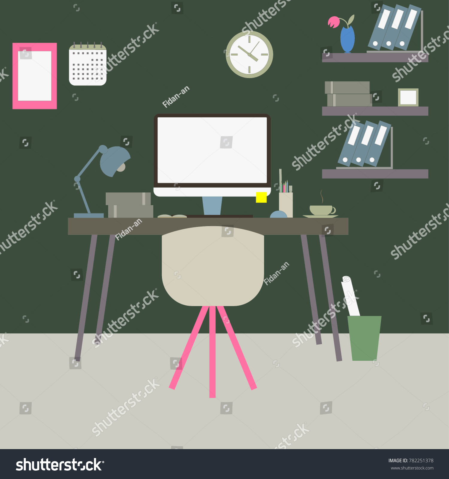 office desk home work. Workplace Workspace Desktop At Home Work Office Desk Pc Monitor Stuff Flower Camera Coffee Cactus Lamp E