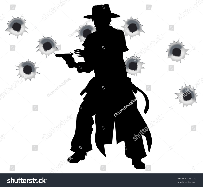 Cowboy Silhouette Stock Photos Royalty Free Cowboy