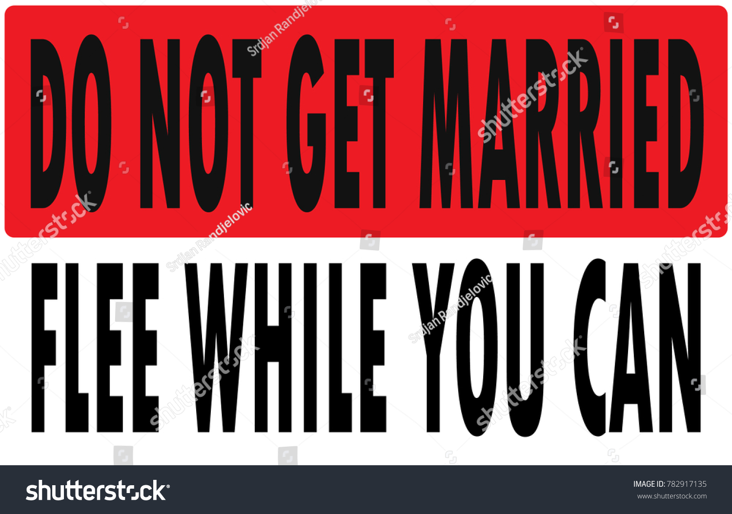 how to not get married