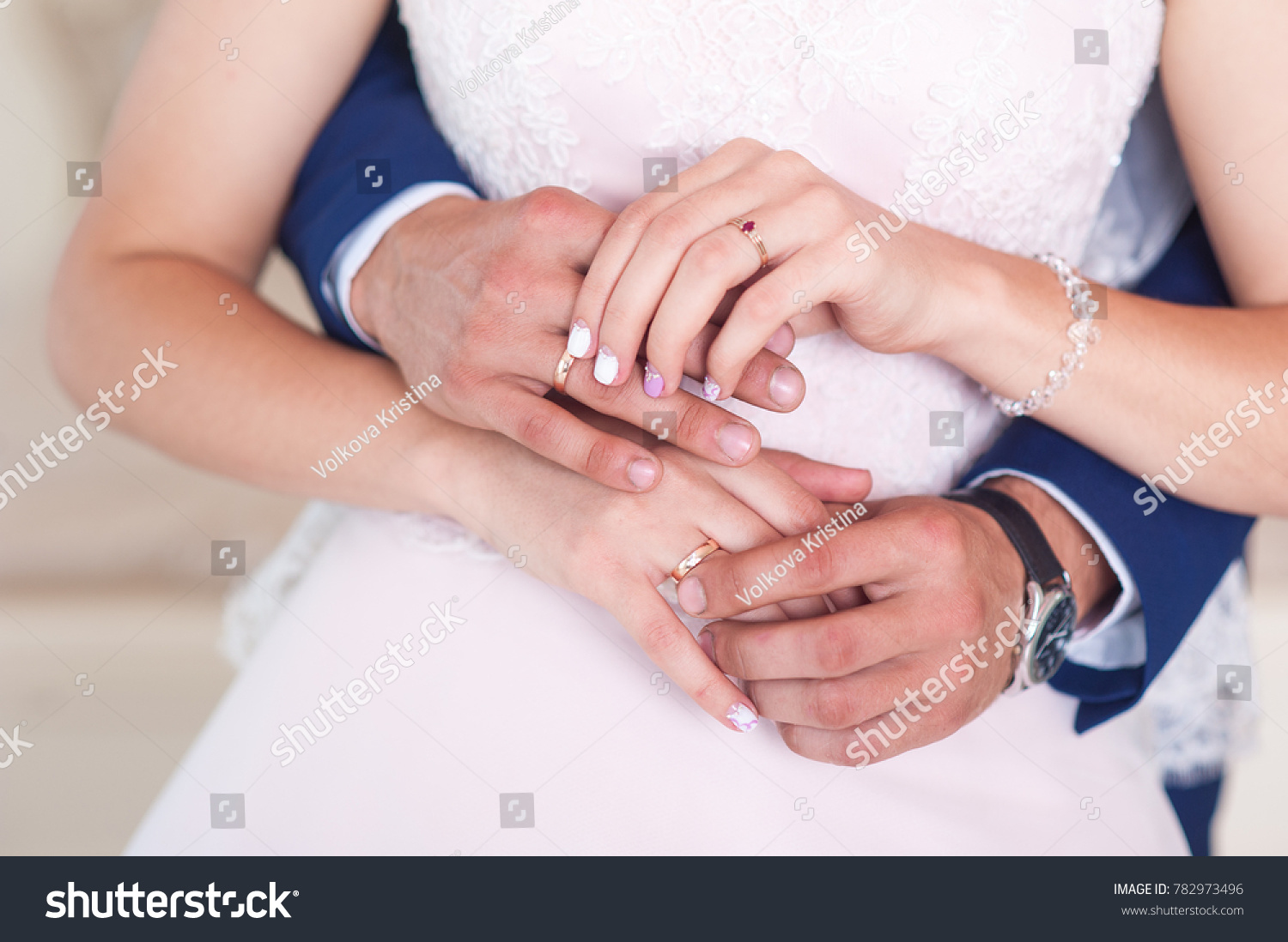 Hand Man Woman Hand Engagement Ring Stock Photo (Royalty Free ...