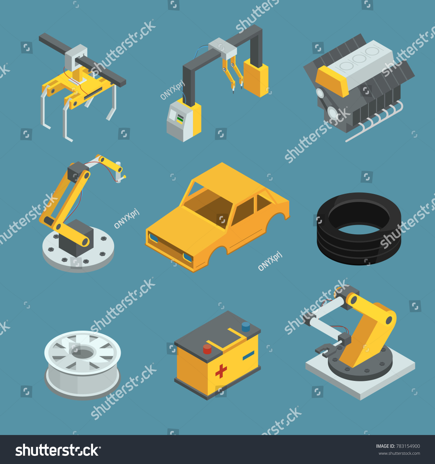 Car Manufacturing Process Diagram Wiring And Ebooks Flow For Automotive Industry Factory Different Technic Stock Rh Shutterstock Com Chart Extrusion