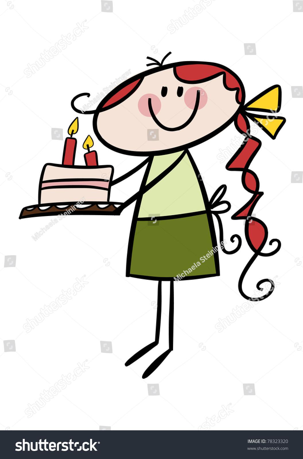Redhead Birthday Cake