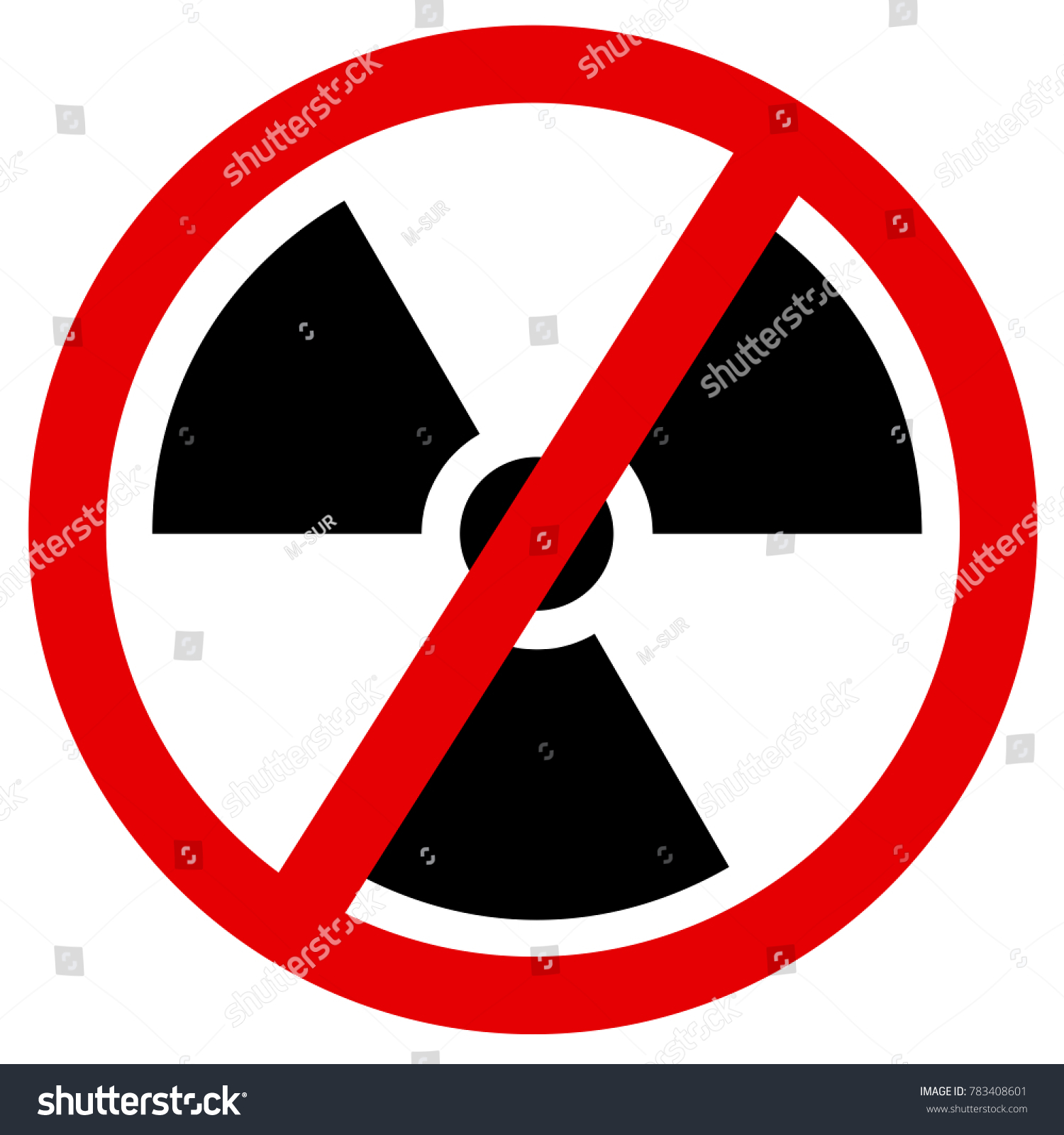 Phaseout discontinuation atomic nuclear power symbol stock vector phase out and discontinuation of atomic and nuclear power symbol of radioactivity is crossed biocorpaavc Image collections