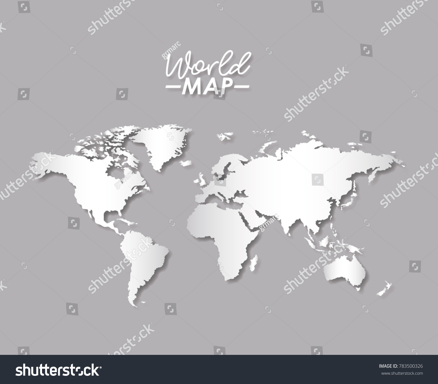World map grayscale color silhouette stock photo photo vector world map in grayscale color silhouette gumiabroncs Image collections