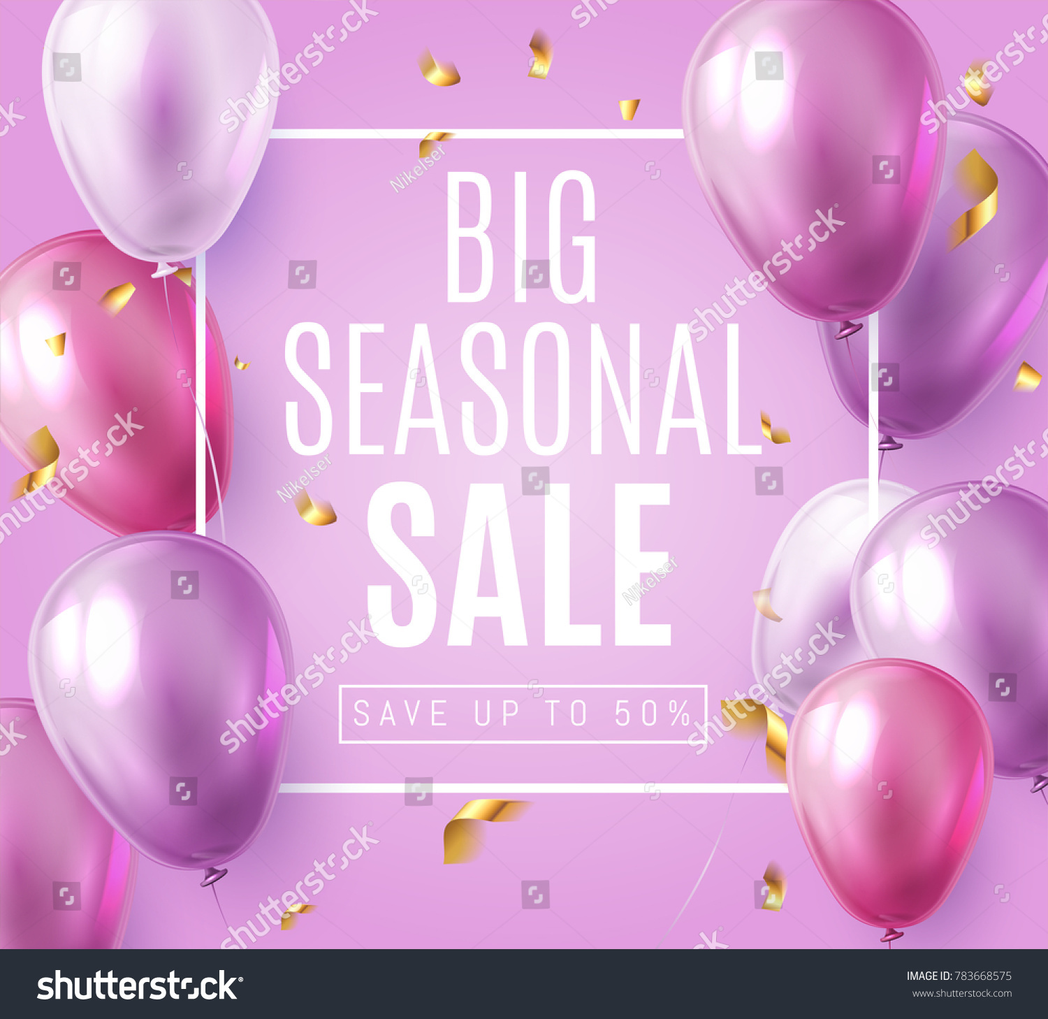 Big Seasonal Final Sale Text Special Stock Vector 783668575