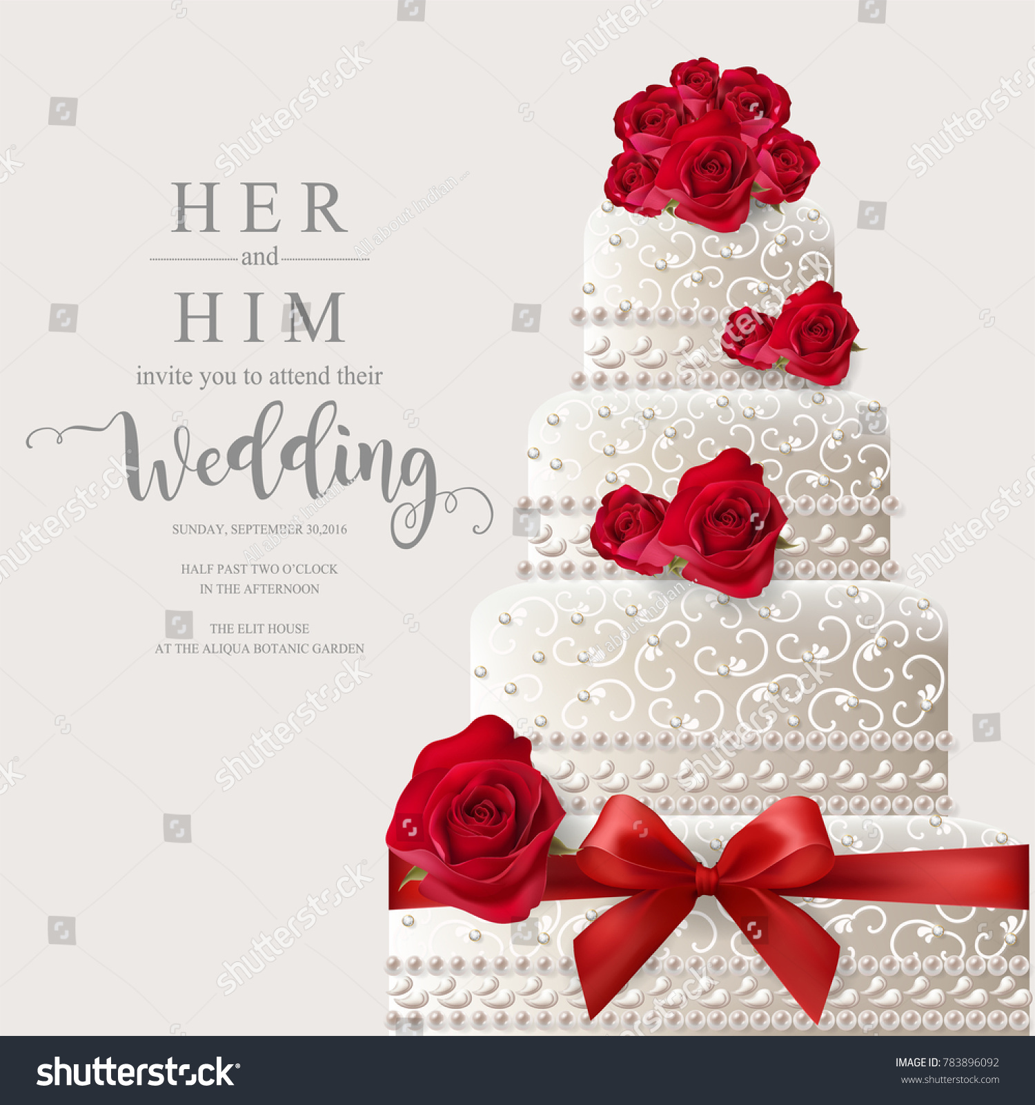 Colorful Wedding Invite Vector Ideas - Invitations and Announcements ...