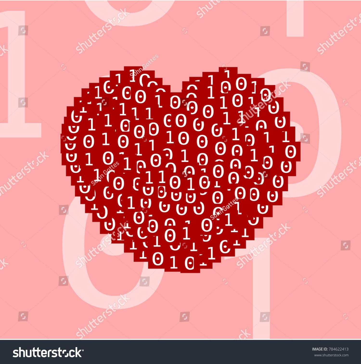stock-vector-heart-drawn-of-analog-zero-