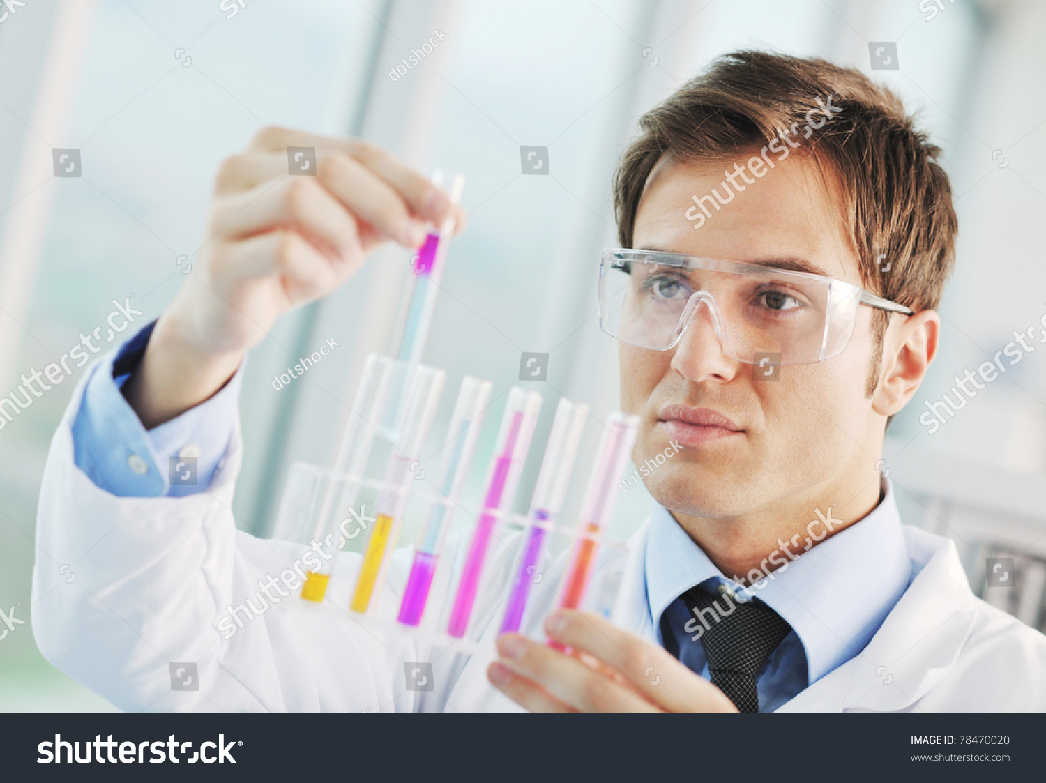 doctor science chemistry research bright student education laboratory shutterstock representing medicine concept