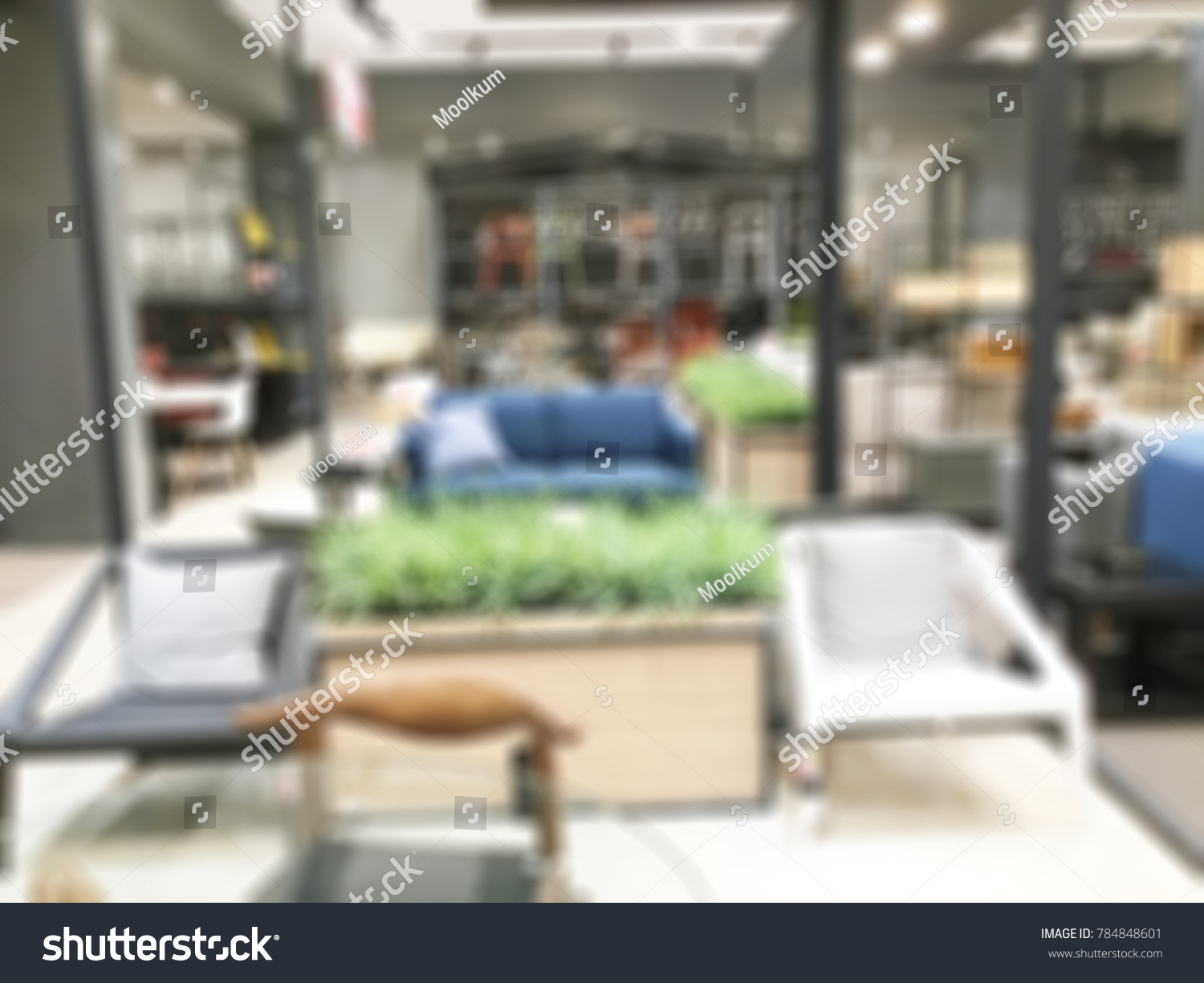 Abstract Blurred Photo Material Store Shopping Stock Photo (Royalty ...