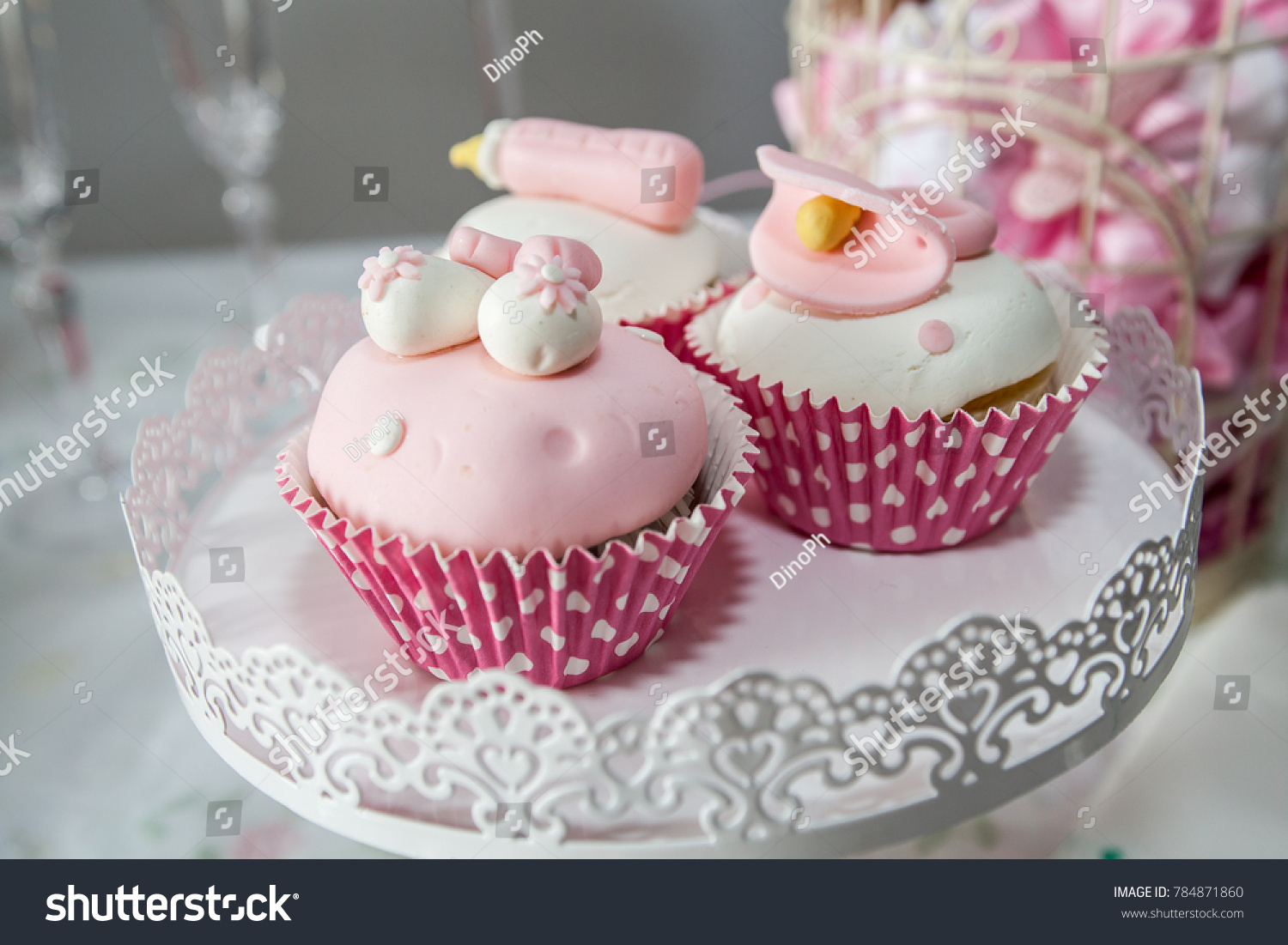 Pink Cupcakes For Girls