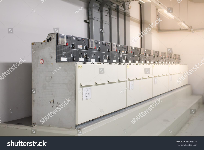 Bangkokthailandjanuary 22018 Electrical Equipment Ring Main Stock ...