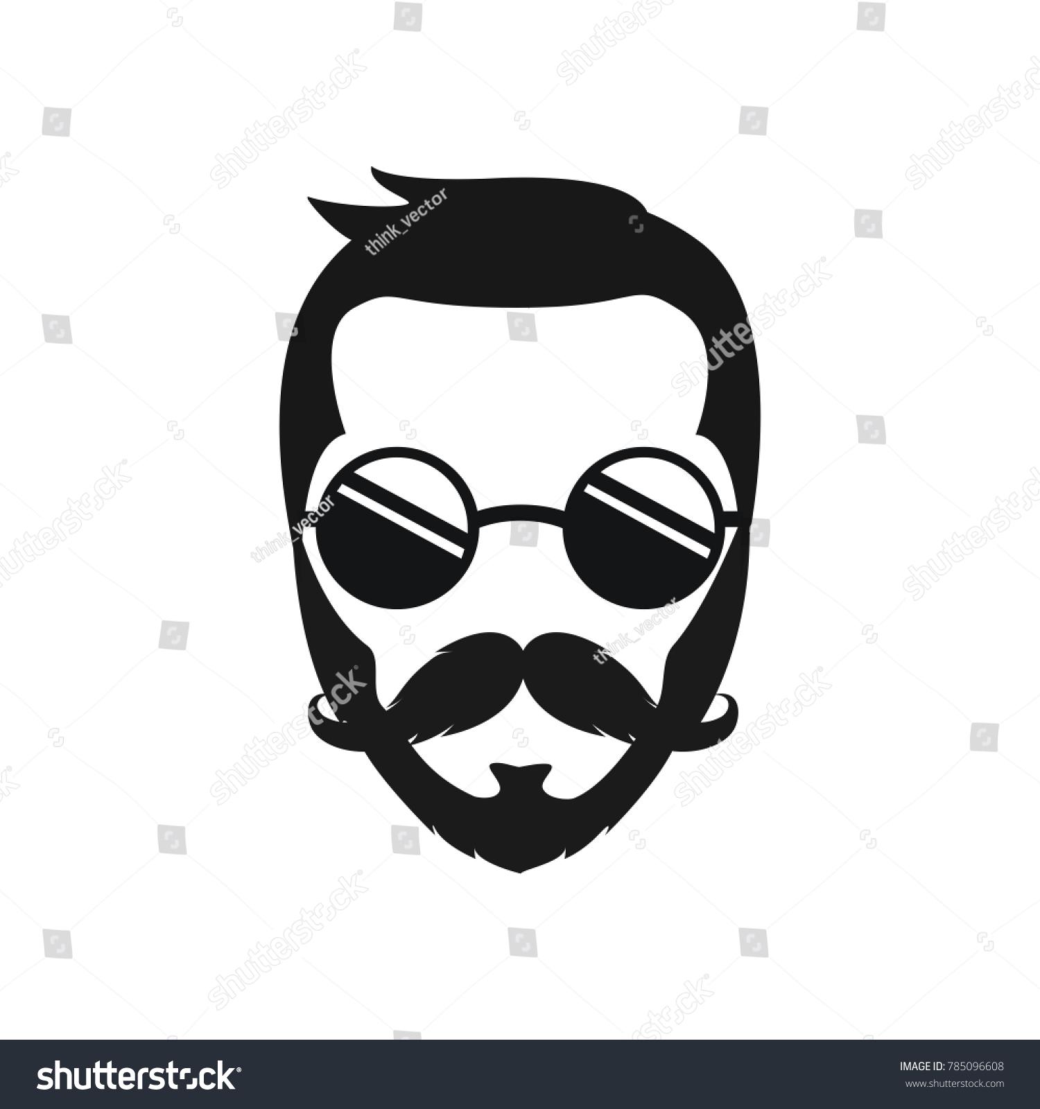 The Bearded Man Logo