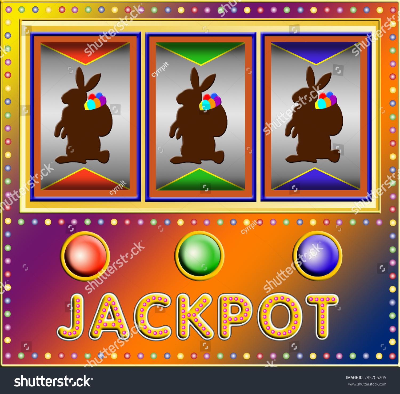 Slot machine three easter rabbits stock illustration 785706205 slot machine three easter rabbits stock illustration 785706205 shutterstock thecheapjerseys Choice Image