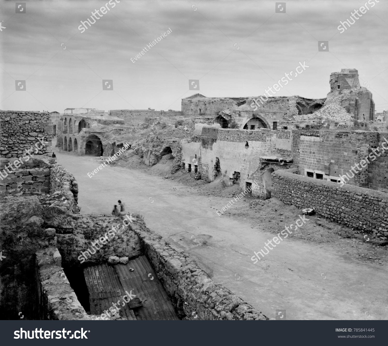 World War 1 Middle East Gaza Stock Photo (Royalty Free) 785841445 ...