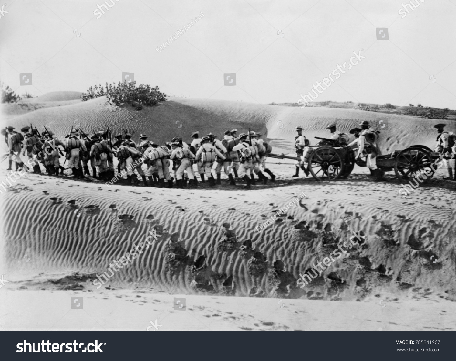 World War 1 Middle East British Stock Photo (Download Now) 785841967 ...