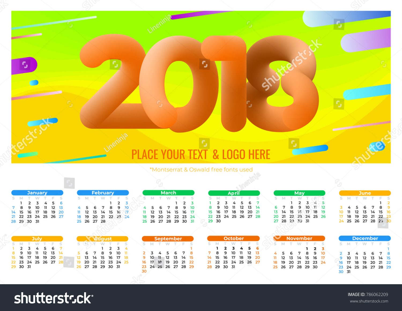 Fine Cool Calendar Template Ideas - Entry Level Resume Templates ...