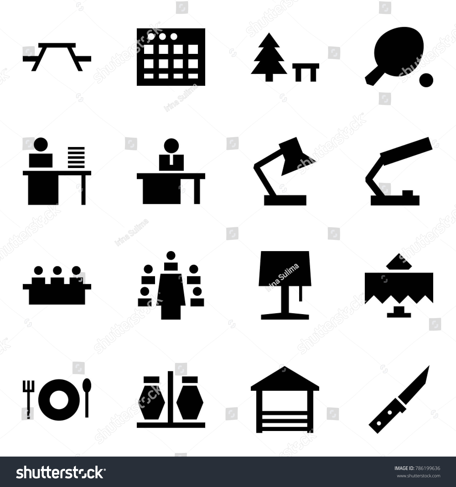 Origami style icon set picnic table stock vector 786199636 origami style icon set picnic table vector sheet camping sign ping pong biocorpaavc