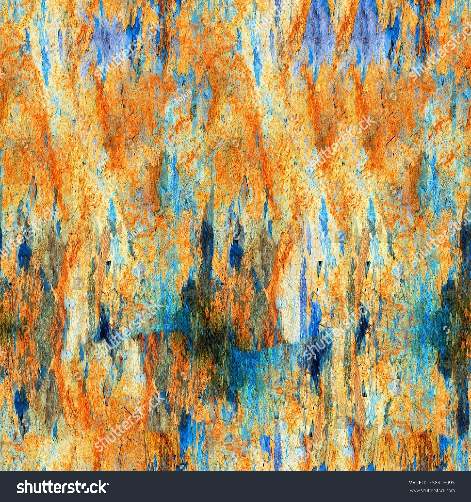 Abstract art background. Hand-painted background | EZ Canvas