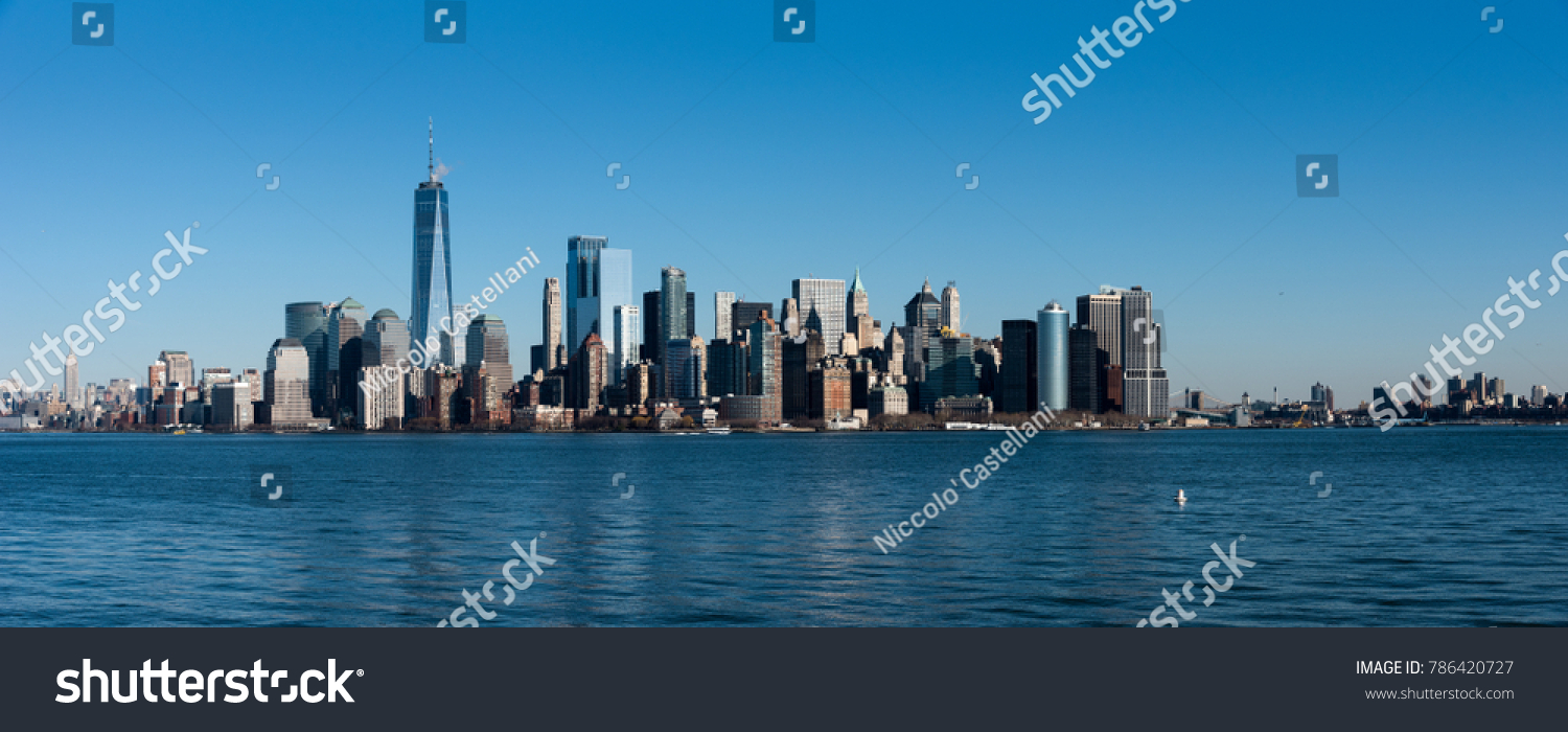 Lower Manhattan, New York. #786420727