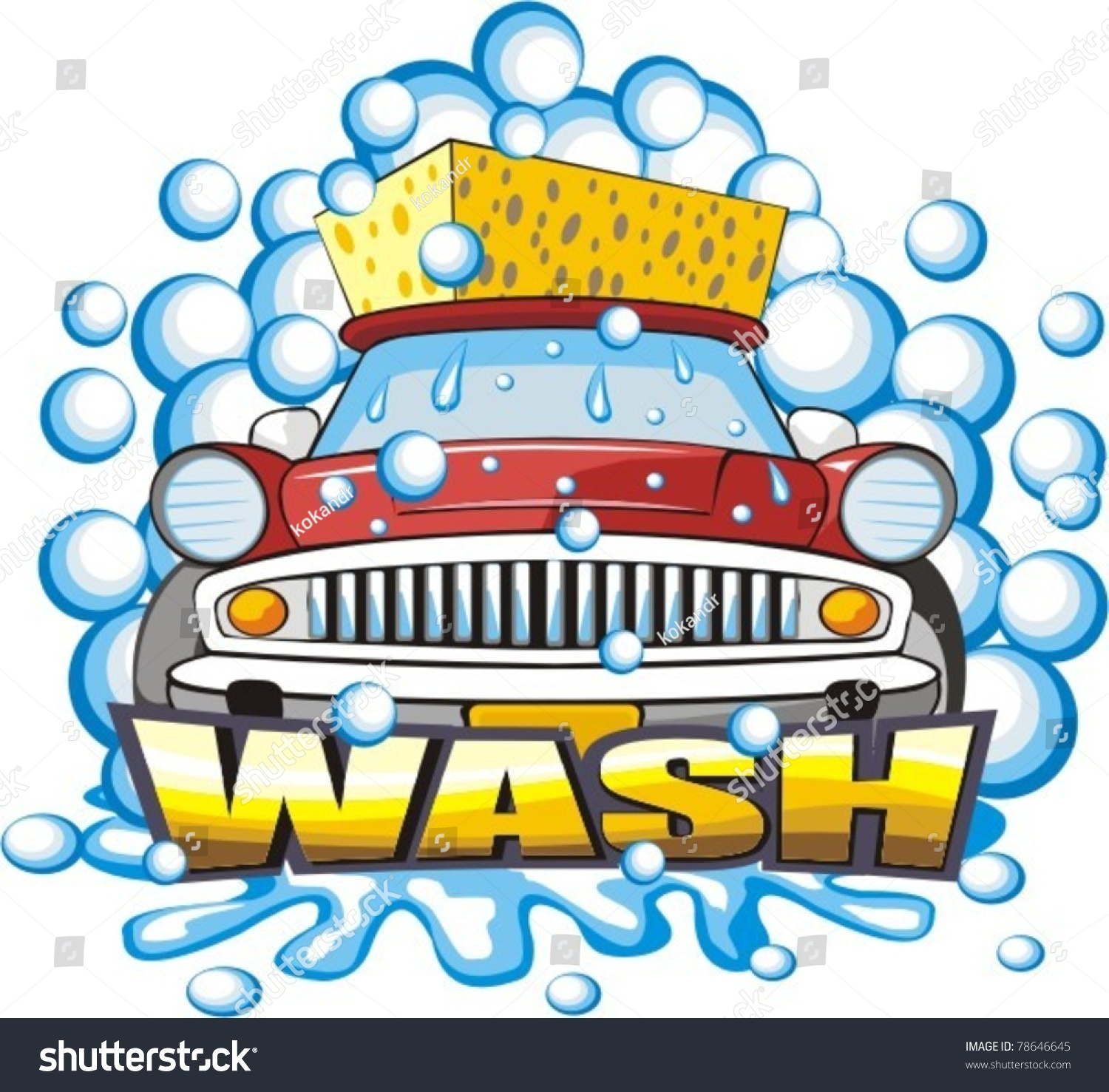 bubble machine car wash