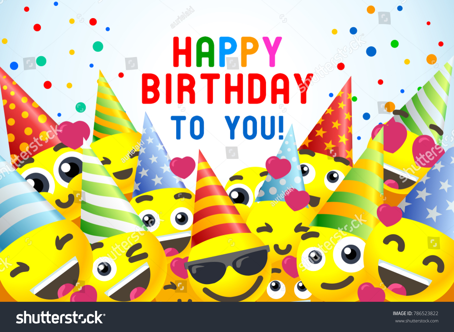 Royalty Free Stock Illustration Of Happy Birthday Background 3 D