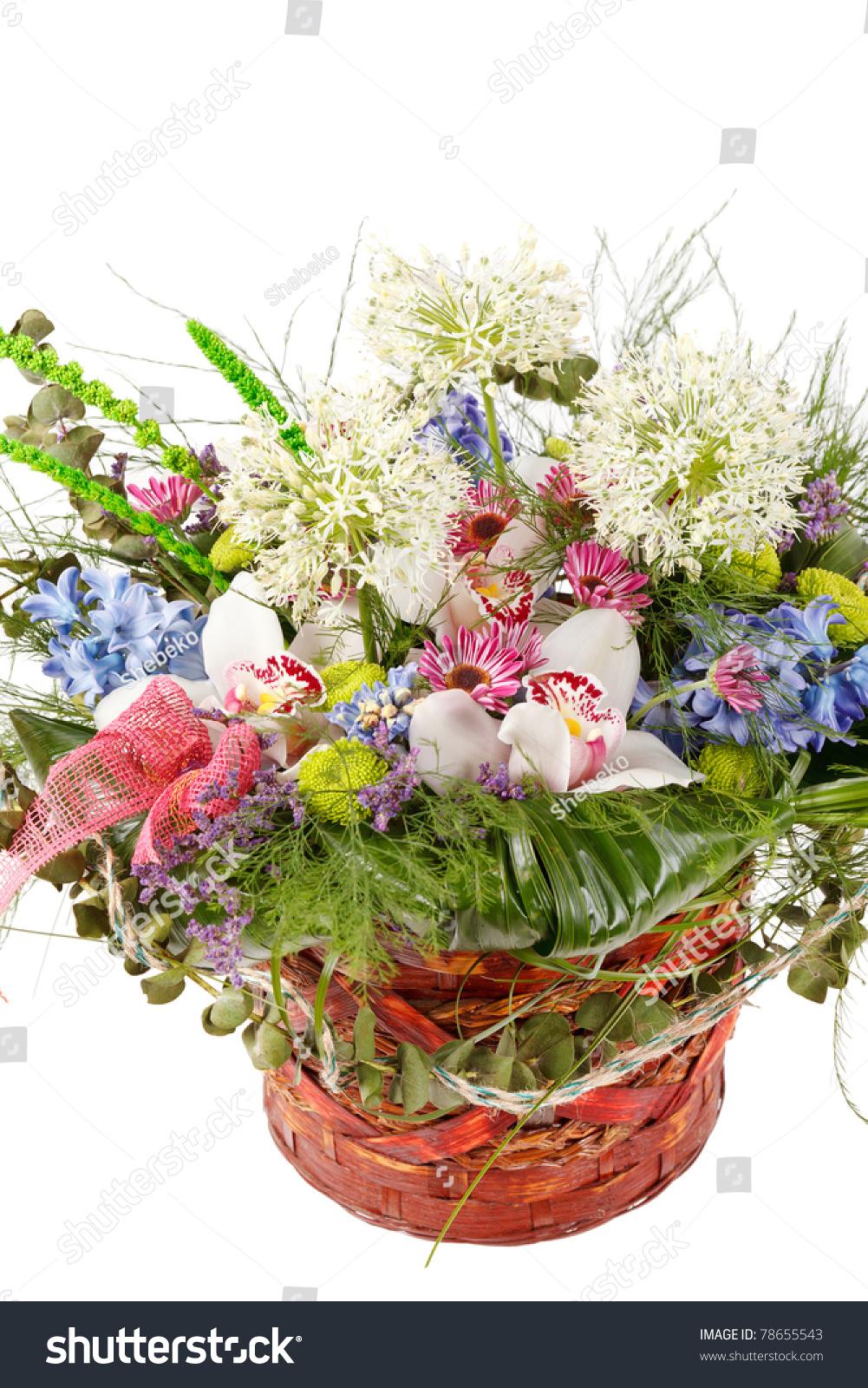 Colorful beautiful flowers basket photo wedding and flowers beautiful flowers basket images flower wallpaper hd izmirmasajfo