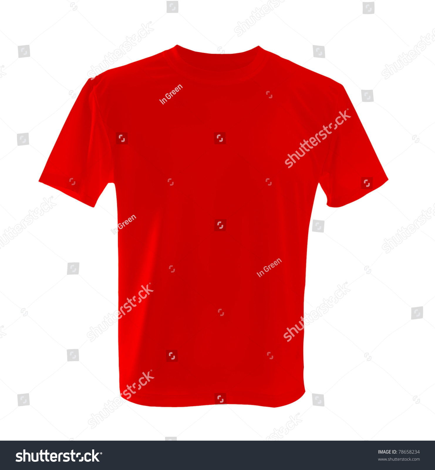 red tshirt be used design template stock photo 78658234 shutterstock. Black Bedroom Furniture Sets. Home Design Ideas