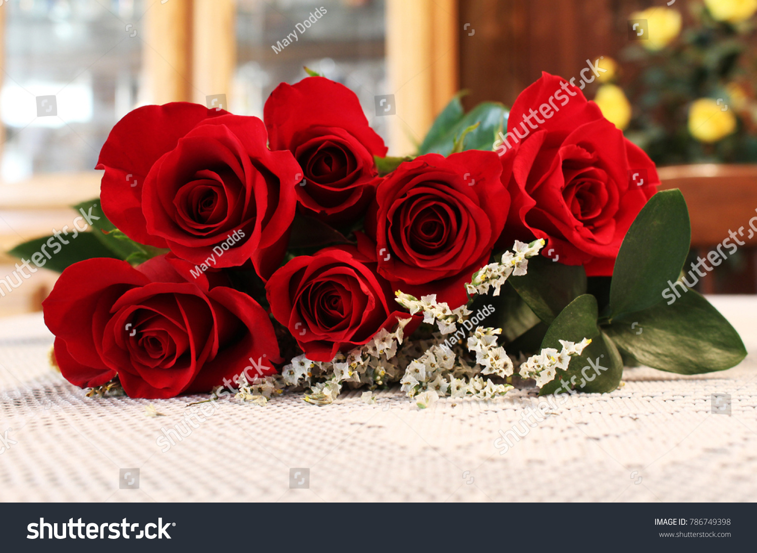 Pretty Red Roses Stock Photo Edit Now 786749398 Shutterstock