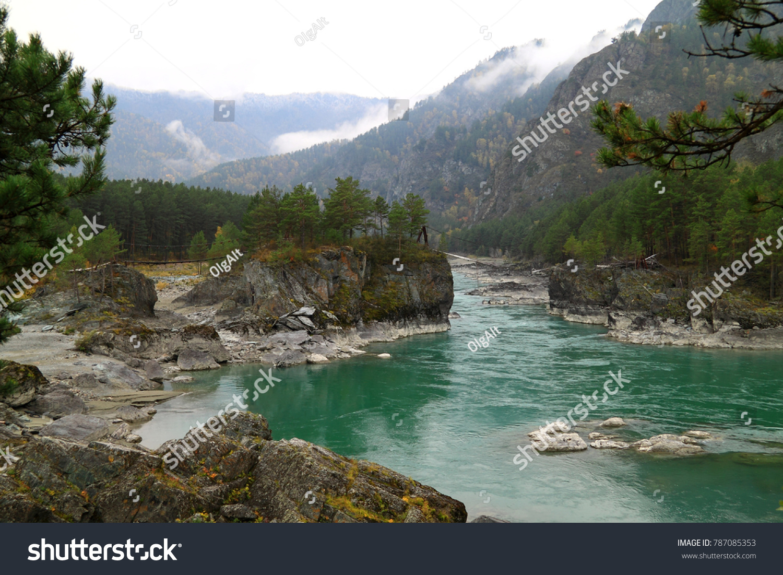 Turquoise Katun - rest on the mountain Altai