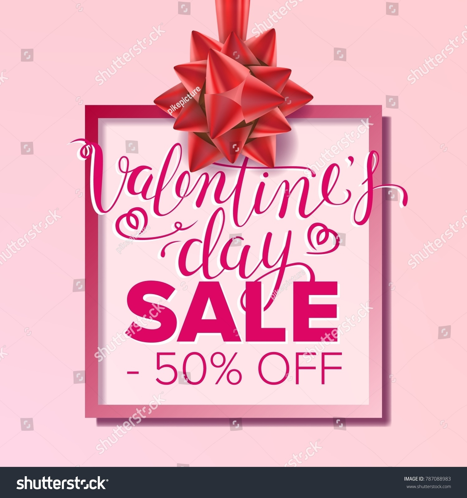 Valentine s day sale banner business stock illustration 787088983 valentine s day sale banner business advertising illustration february 14 sale poster template kristyandbryce Image collections