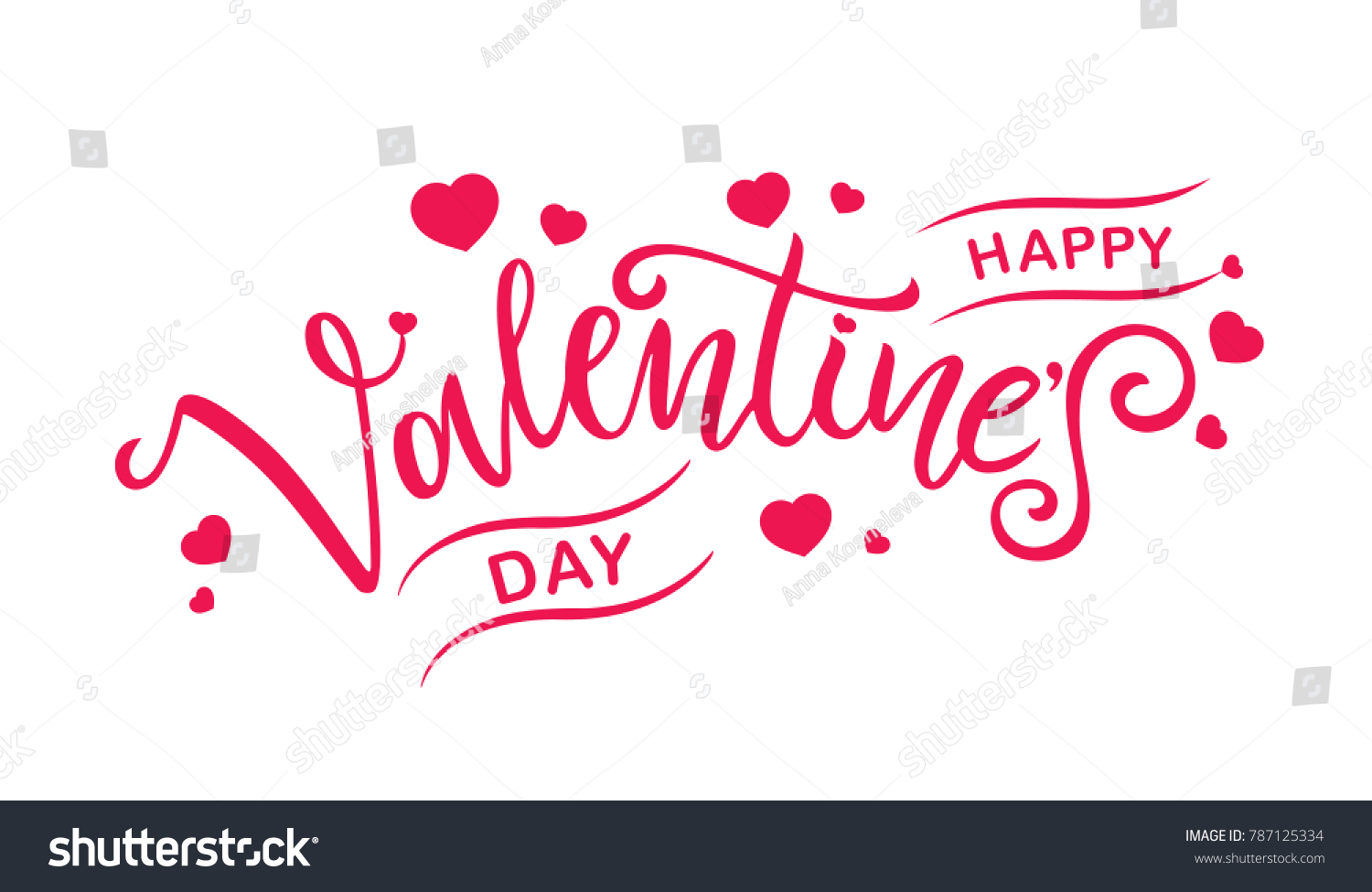 Happy valentines day typography vector design stock vector happy valentines day typography vector design for greeting cards and poster valentines day text on kristyandbryce Choice Image