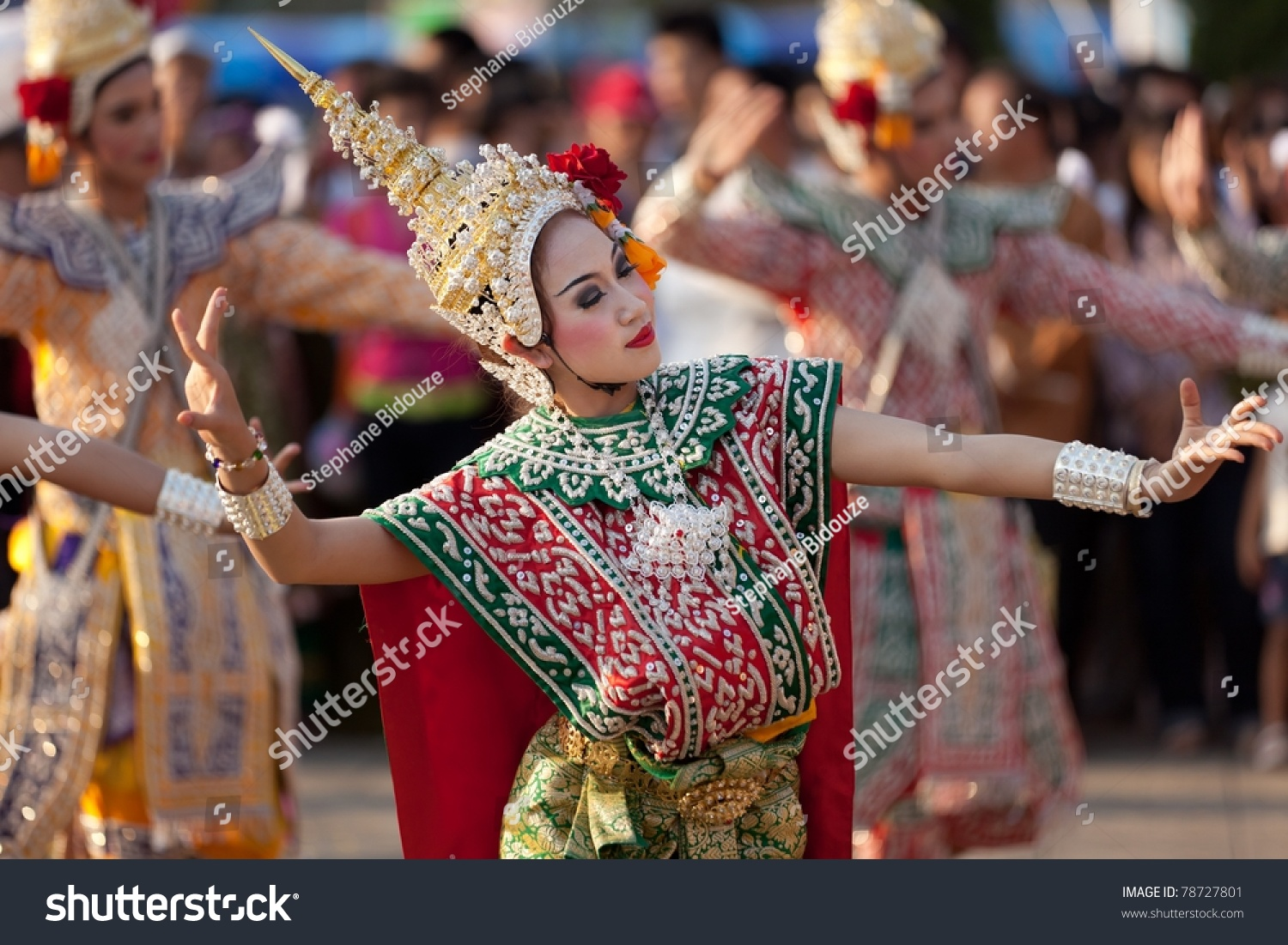 Phayao Thailand  City pictures : PHAYAO, THAILAND MARCH 05: Thai dancer perform Thai dance during ...