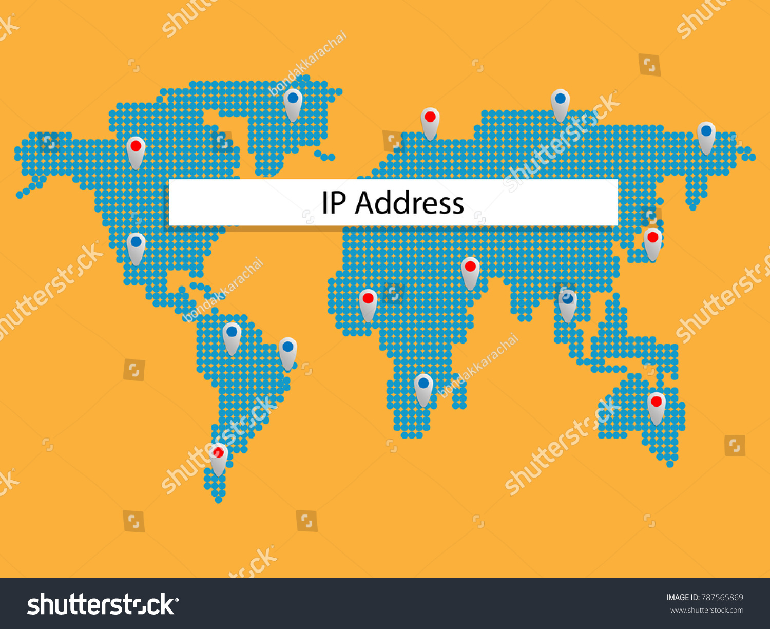 how to show ip addresses on a map