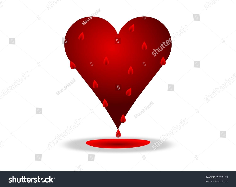 Bleeding heart illustration stock illustration 78760123 shutterstock bleeding heart illustration buycottarizona