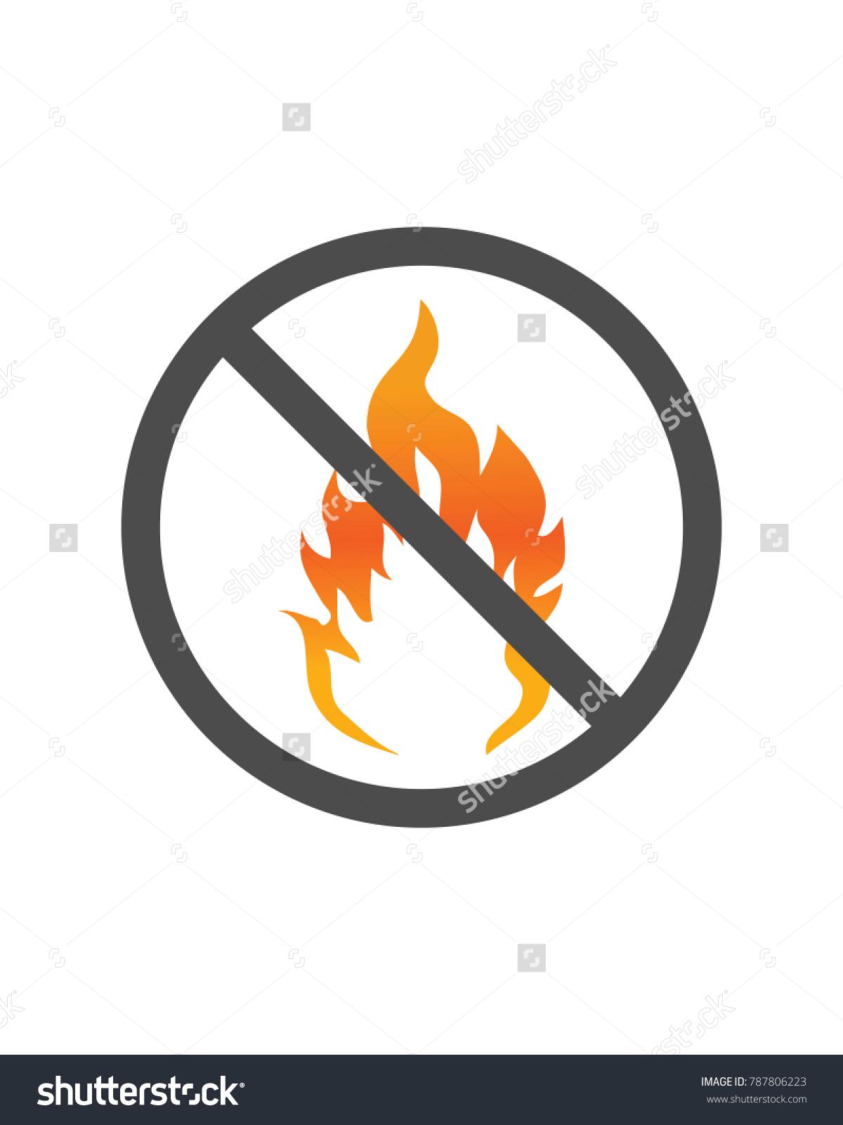 Hazard warning sign flammable stock vector 787806223 shutterstock hazard warning sign flammable buycottarizona