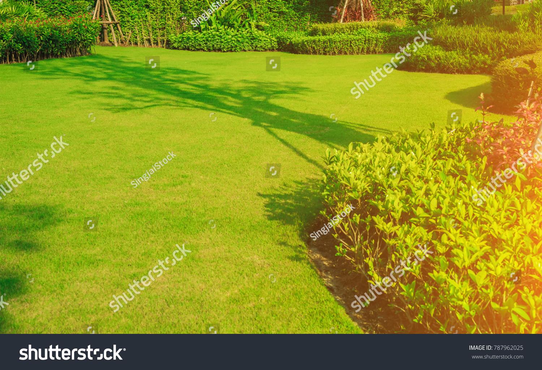 Landscaped Formal Garden Front Yard Garden Stock Photo (Edit Now ...