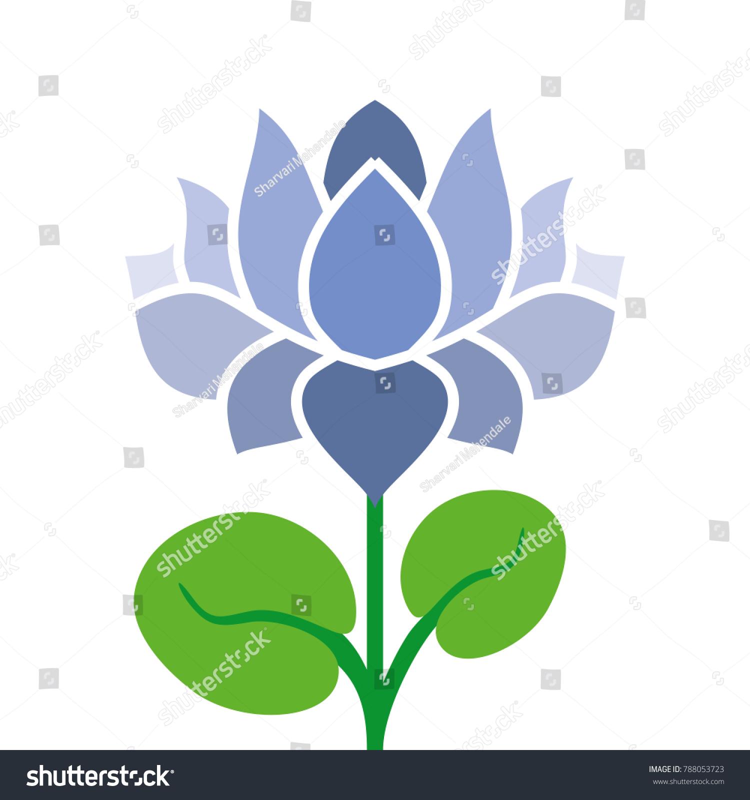 Lotus National Flower India Stock Illustration 788053723 Shutterstock