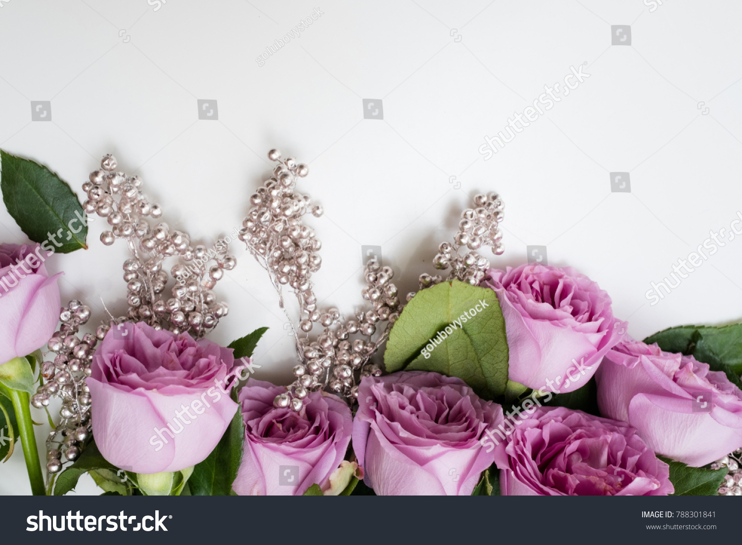 Spring Wedding Flowers Decor Pink Roses Stock Photo Edit Now