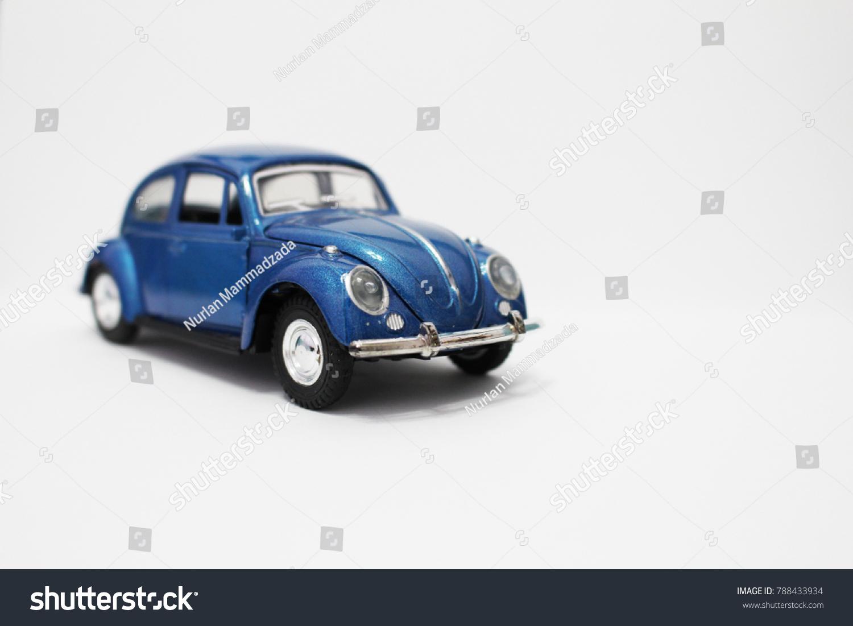 Toy Model Car Volkswagen Beetle Vintage Stock Photo 788433934 ...