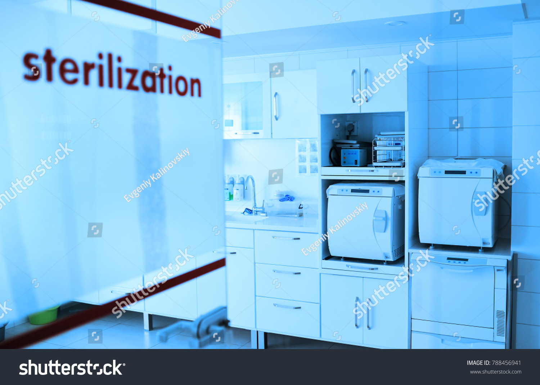 Room Sterilizing Instruments Modern Clinic Surgery Stock Photo (Edit ...