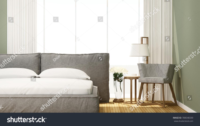 Bedroom Living Area Hotel Home Bedroom Stock Illustration 788548339 ...