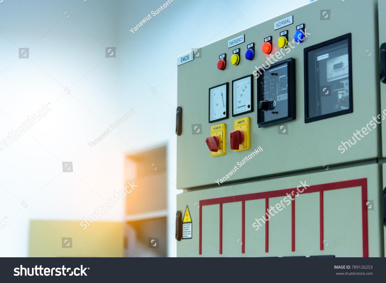 Power Electric Main Distribution Breaker MDB Stock Photo (Edit Now ...