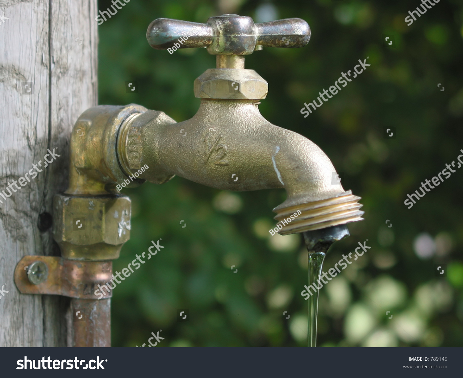 Leaky Garden Faucet Stock Photo 789145 Shutterstock
