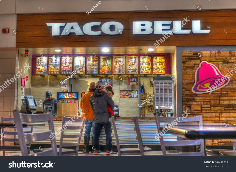 Hdr Image Taco Bell Restaurant Menu Stock Photo Edit Now 789418228
