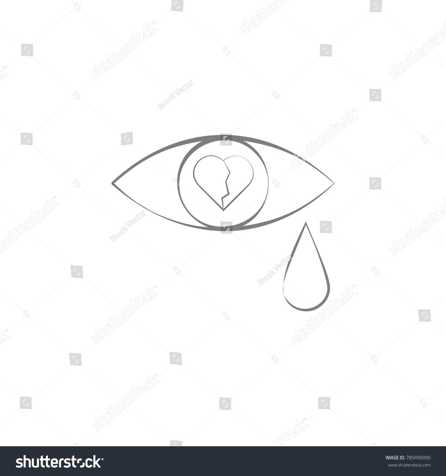 Tears broken heart icon web element stock vector 789490090 tears broken heart icon web element stock vector 789490090 shutterstock biocorpaavc Images