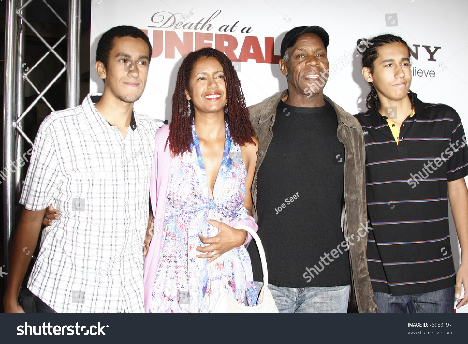 Los Angeles Apr 12 Danny Glover Stock Photo 78983197 ...