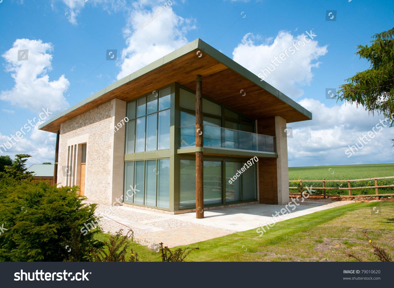 xterior Modern House Stock Photo 79010620 - Shutterstock - ^
