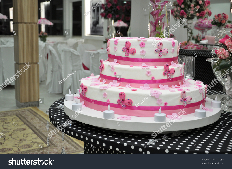 Birthday Cake Debutante 15 Years Old Stock Photo Edit Now