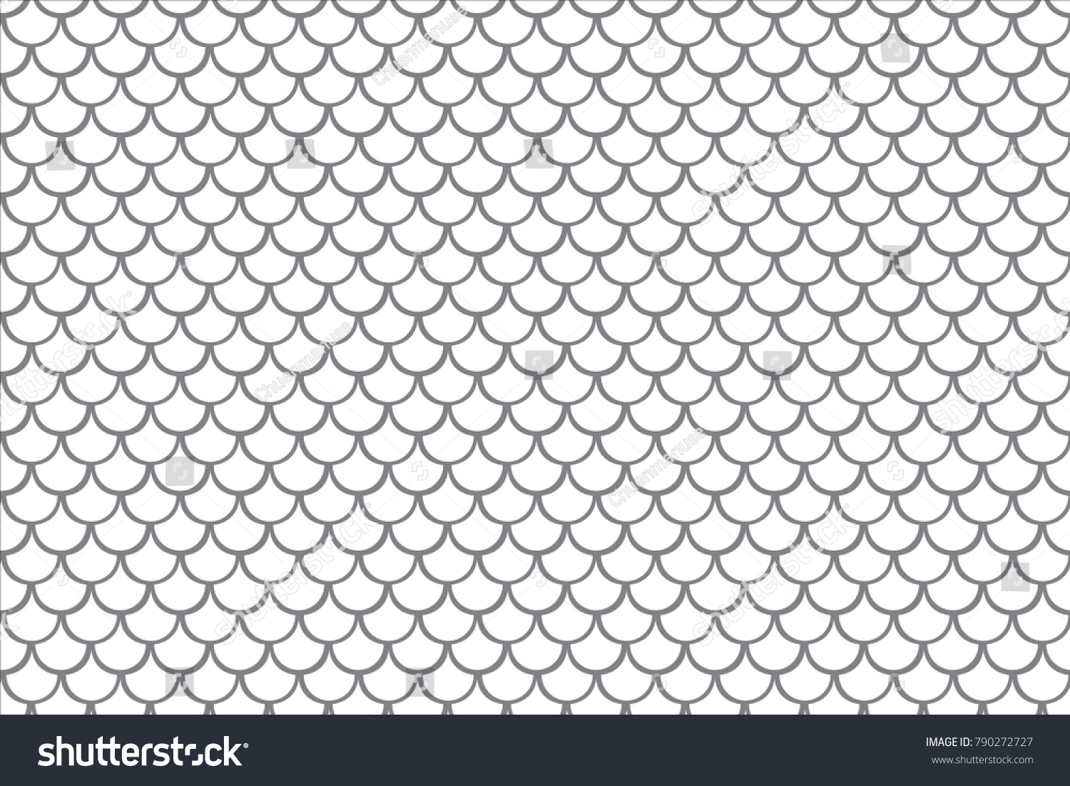 fish scale background dragon scales seamless stock vector 790272727